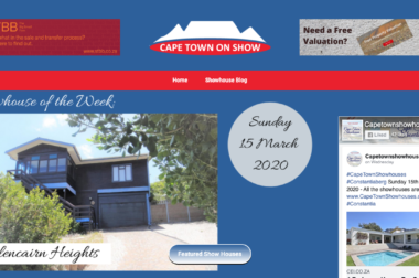 All the showhouses in Cape Town every Sunday